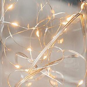 LED イルミネーション シルバーワイヤー 20球 ライト 単3 電池|yourstylewedding