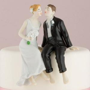 ケーキトッパー 裸足でキス ウエディング 結婚式 正規代理店|yourstylewedding