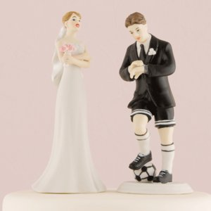ケーキトッパー サッカー ウエディング 結婚式 正規代理店|yourstylewedding
