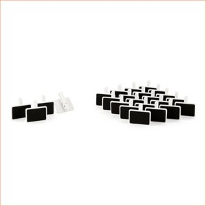 黒板 クリップ付き チョークボード ミニ グラスマーカー 24個セット|yourstylewedding