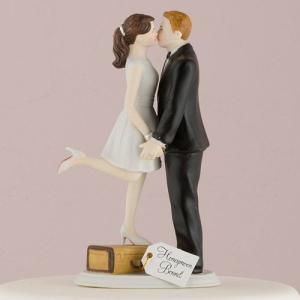 ケーキトッパー スーツケース キス ウエディング 結婚式  正規代理店|yourstylewedding