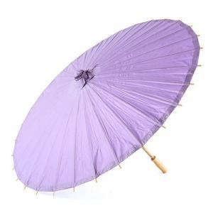 和傘 ペーパーパラソル 紙傘 紫 薄紫 ラベンダー 全18色 撮影や装飾に|yourstylewedding
