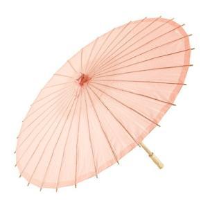 和傘 ペーパーパラソル 紙傘 ピーチ サーモンピンク 全18色 撮影や装飾に|yourstylewedding