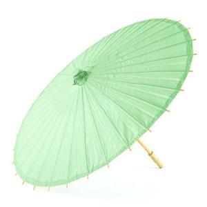 和傘 ペーパーパラソル 紙傘 緑 ダイキリグリーン 全18色 撮影や装飾に|yourstylewedding