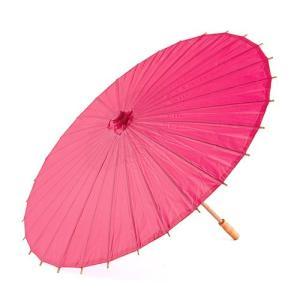 和傘 ペーパーパラソル 紙傘 フューシャピンク 全18色 撮影や装飾に|yourstylewedding