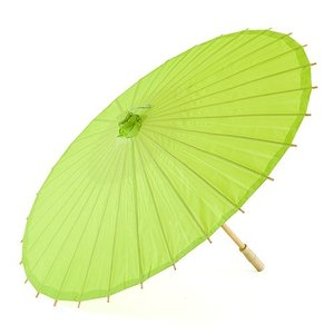 和傘 ペーパーパラソル 紙傘 緑 キャンディアップルグリーン 全18色 撮影や装飾に|yourstylewedding