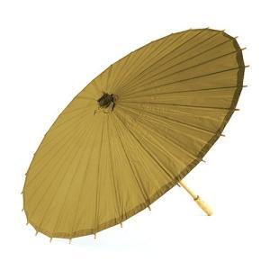 和傘 ペーパーパラソル 紙傘 金色 ゴールド 全18色 撮影や装飾に|yourstylewedding