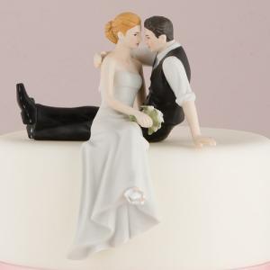 ケーキトッパー 見つめ合う二人 The Look Of Love ウエディング 結婚式 正規代理店|yourstylewedding