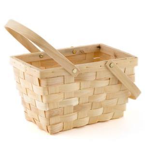 ピクニックバスケット 木製 かご Lサイズ|yourstylewedding