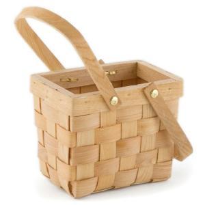 ピクニックバスケット 木製 かご Mサイズ|yourstylewedding