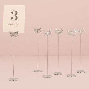 カード立て カードスタンド 蝶 6本セット|yourstylewedding