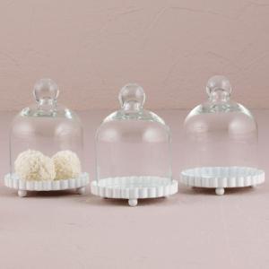 ガラスジャー ケーキドーム スモールサイズ 4個セット|yourstylewedding