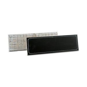 片面は黒板 片面はヴィンテージ加工のサインボード 2枚組 アウトドアウエディング|yourstylewedding