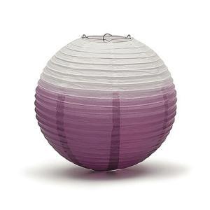 ペーパーランタン ちょうちん 30cm グラデーション パープル 紫|yourstylewedding