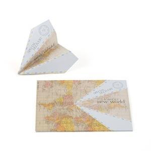 紙飛行機型 ゲストブック 芳名カード 25枚セット|yourstylewedding