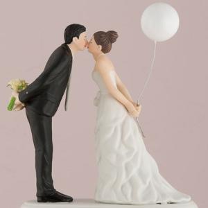 ケーキトッパー バルーン キスして ウエディング 結婚式 正規代理店|yourstylewedding