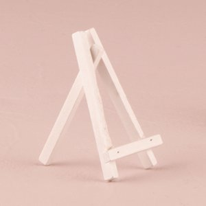 白のイーゼル ミニサイズ チョークボードS用 6個セット|yourstylewedding