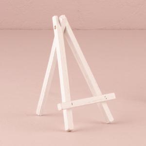 白のイーゼル ミニサイズ チョークボードM用 4個セット|yourstylewedding
