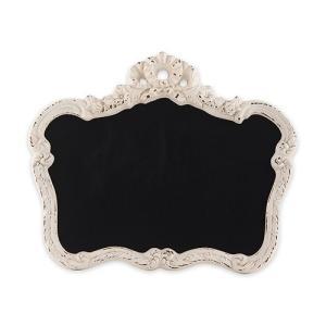 黒板 サインボード ホワイトのフレーム付き 額縁 ヴィンテージ加工 白 yourstylewedding
