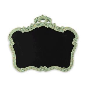 黒板 サインボード グリーンのフレーム付き 額縁 ヴィンテージ加工 緑 yourstylewedding