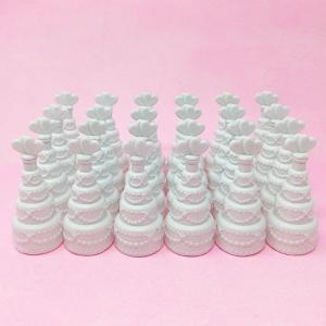 バブルシャワー用シャボン玉 ウエディングケーキ型 24個入り 結婚式 ウエディング yourstylewedding