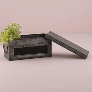 黒板つきブリキ缶 装飾用 ウエディングデコレーション S|yourstylewedding