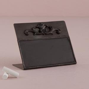 金属製の黒板 自立型チョークボード サインボード 卓記号 Sサイズ|yourstylewedding