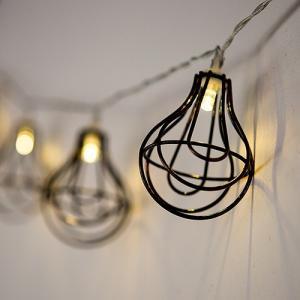LED イルミネーション ワイヤー ランプ 10球 ライト 単3 電池|yourstylewedding