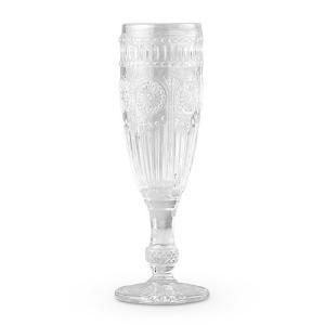 装飾用フルートグラス デコレーション用 ビンテージ クリア|yourstylewedding