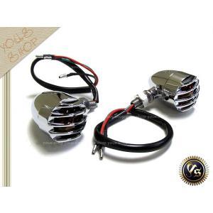 ビラーゴ125 グース350 GSX1100S RMX250ST ブラス ウインカー