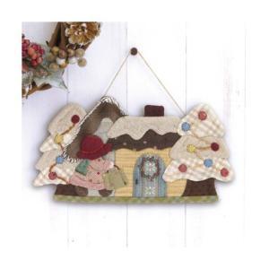 オリムパス製絲 パッチワークキット お出かけスーのホワイトクリスマス PA-743|yousaihoriuchi