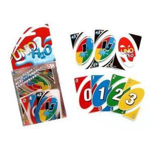 ウノ UNO H2O 【防水タイプ プラスチック製 カードゲーム パーティーゲーム マテル】  アウ...