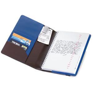 TROIKA トロイカ A5手帳カバー DIN A5手帳カバー ブルーキャニオン|yousay-do