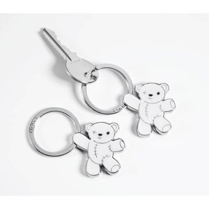 TROIKA (トロイカ) キーリング (TEDDY, white) KR7-03/WH|yousay-do