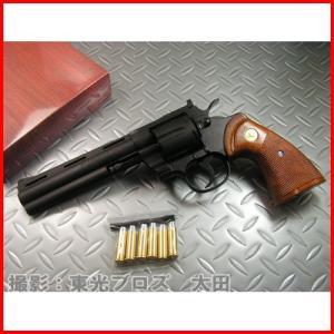 送料無料 タナカ 発火モデルガン コルトパイソン .357マグナム 6インチ Rモデル ヘビーウェイト 4537212007795