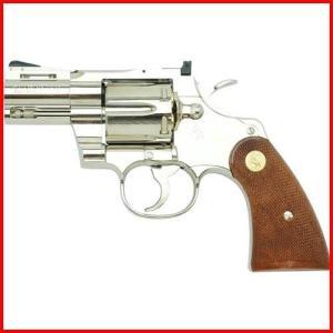 タナカ 発火モデルガン コルトパイソン .357マグナム 2.5インチ Rモデル ニッケルフィニッシュ 4537212008167|yousay-do