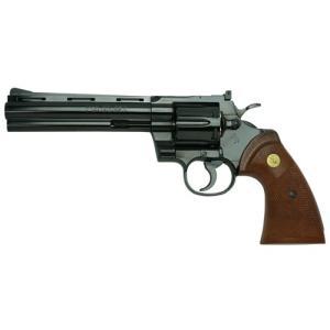タナカ 発火モデルガン コルトパイソン .357マグナム 6インチ Rモデル スチールフィニッシュ 4537212008945