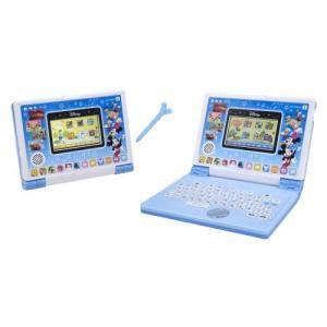 送料無料 ディズニー&ディズニー/ピクサーキャラクターズ パソコンとタブレットの2WAYで遊べる! ワンダフルドリームタッチパソコン|yousay-do