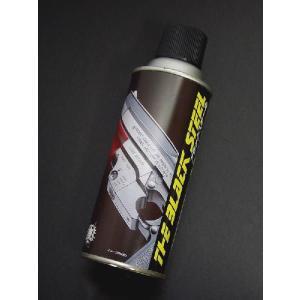 CAROM SHOT ブラックスチール ケミカルカラースプレー