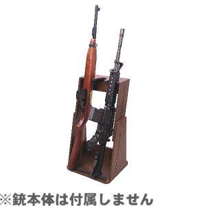 ファクトリーブレイン ライフル3挺掛け変動型 ガンスタンド GS03BN1|yousay-do