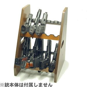 ファクトリーブレイン 2段式ハンドガンスタンド 10挺掛け GS15N1|yousay-do