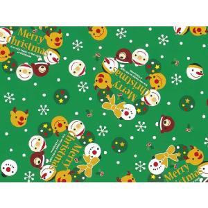 クリスマス用 包装紙 スマイルリースG 全判・50枚|yousay-do