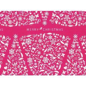 クリスマス用 包装紙 プリンセスツリー 半才・100枚|yousay-do