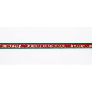 クリスマス用 リボン クリスマスローズ9mm 36 9mm幅×10M巻|yousay-do