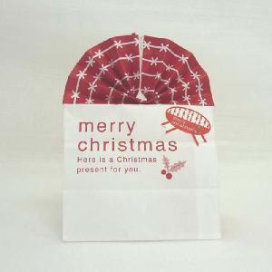 クリスマス用 ペーパーバッグマチ付き/紙袋 X4枚|yousay-do