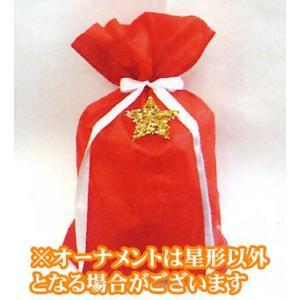 クリスマス用 個人用包材 巾着袋 XFKEI シャンテアカ 60-85|yousay-do