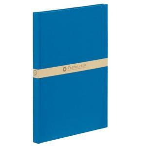 [23292] ナカバヤシ テラコッタ ブック式 A4 ブルー TER-A4B-200-B 4902205232926|yousay-do