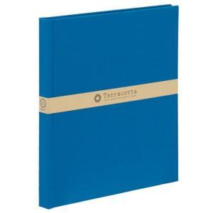 [23297] ナカバヤシ テラコッタ ブック式 デミ ブルー TER-DB-180-B 4902205232971|yousay-do