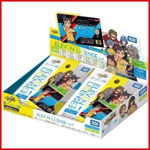 イナズマイレブン イレブンライセンス Vol.1 BOX 1ボックス=18パック入り 4904810101949|yousay-do