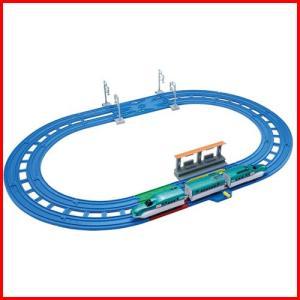 プラレール レーンがクロス! E5系新幹線 はやぶさベーシックセット 4904810118480